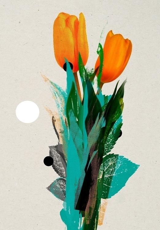flowgard - play flowers - collage - kopfsprung-4141 | ello