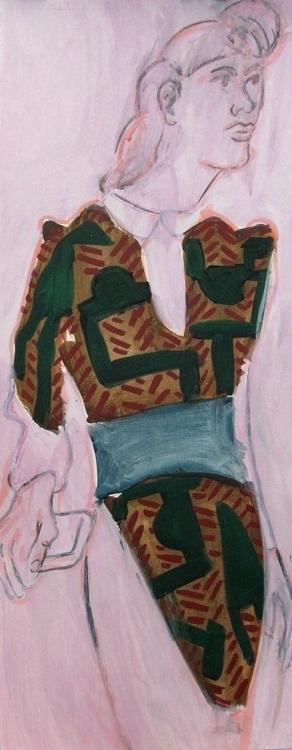 Conswayla acrylic paper 2015 - painting - frankcreber   ello