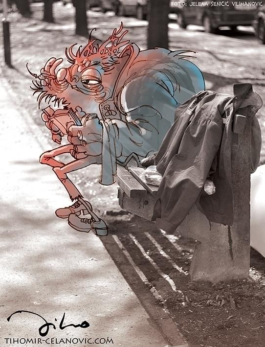 Creatures world 4 - illustration - tiho-3213 | ello