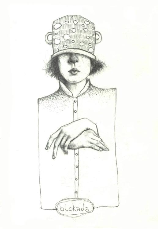 Blocade - blocade, portrait, pencildrawing - natasakonjevic | ello