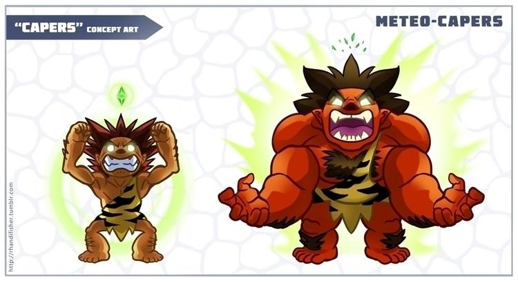 Meteo-Capers concept art - cavemancapers - rhandidandy | ello