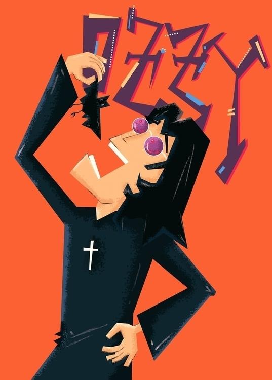 Ozzy Osbourne - ozzy, poster, rock - nfiasche | ello