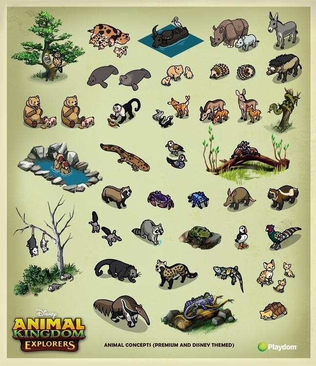 animal concepts designed Disney - rhandidandy | ello