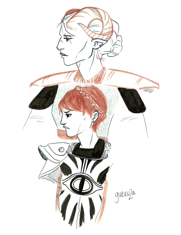 Inquisitor Cassandra Dragon Age - guemoza   ello