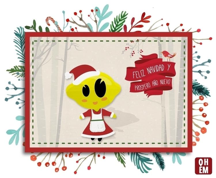 Limoná - Navidad - illustration - lydilena | ello