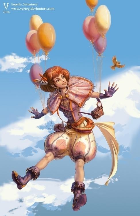 Happy Journey - illustration, eugeniavorontsova - eugeniavertryvorontsova | ello