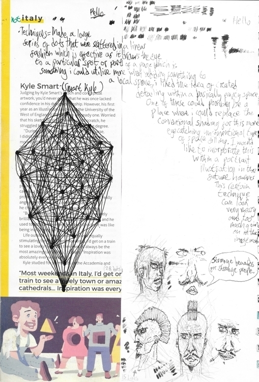 illustration, graphic, collage - jamescampbell-1440 | ello
