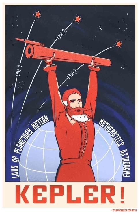 Propaganda poster Johannes Kepl - james-8103 | ello