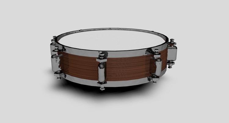 Snare Drum - design, 3d, 3dmodel - sandurojas | ello