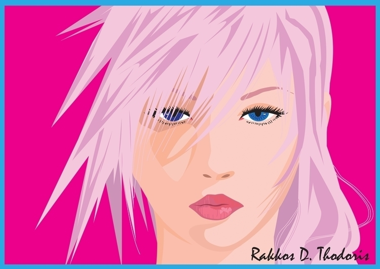 Lightning (Claire Farron) Final - thodoris91 | ello