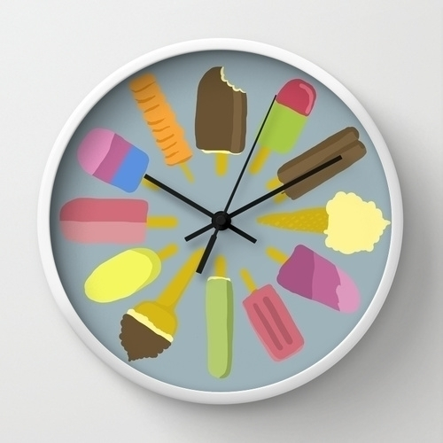 time - icecream, icedreams, clock - skuggan | ello
