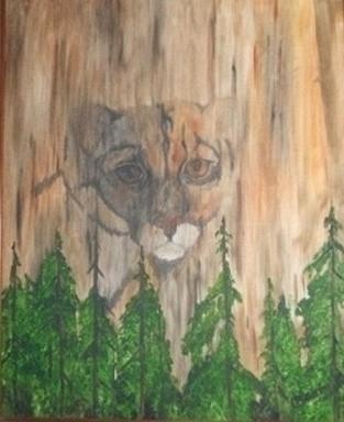 Ghost Cat - painting - brandyhouse | ello