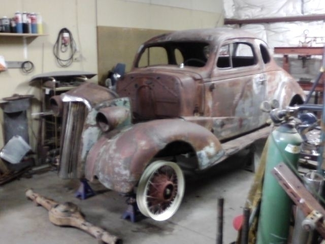 1937 Chevy 5 Window - Fabrication - tilman-1445   ello