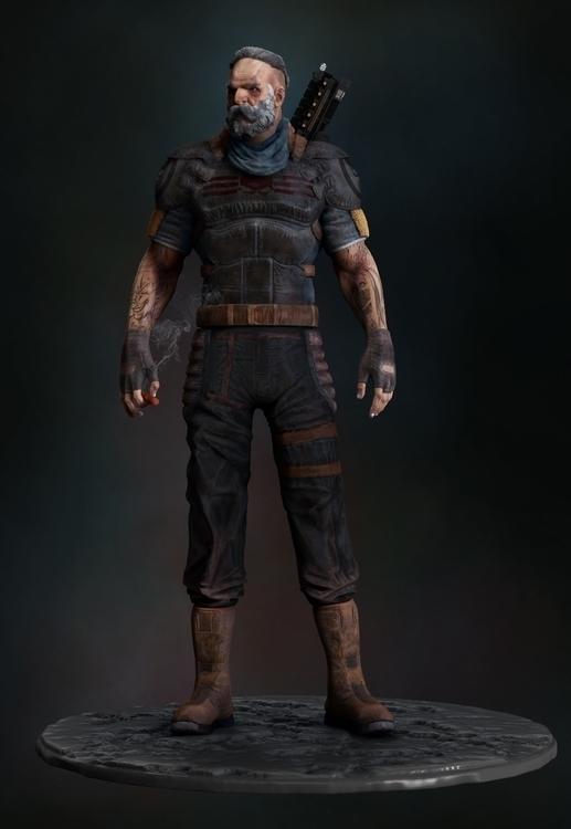Mercenary - animation, 3d, gameart - baratha | ello