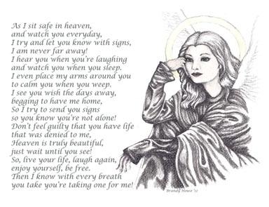 Angel Watching - drawing - brandyhouse | ello