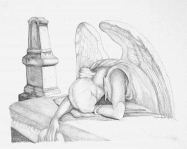 Angels Weep - drawing - brandyhouse | ello