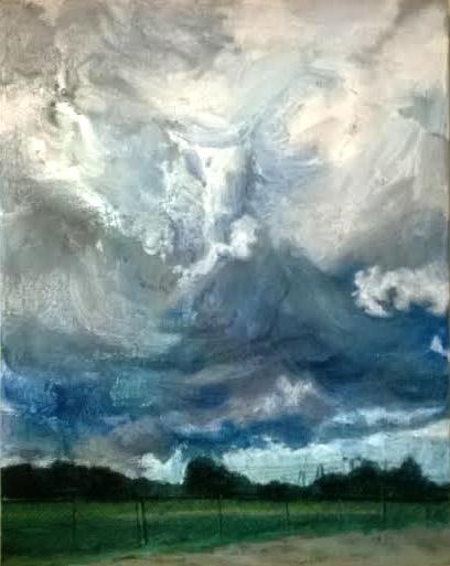 drawing, sky, colors, pastels - kennethshearer-1623   ello
