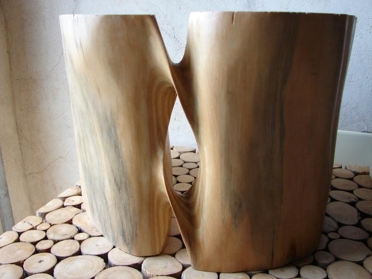 Sense títol - wood, sculpture - xavipuente | ello