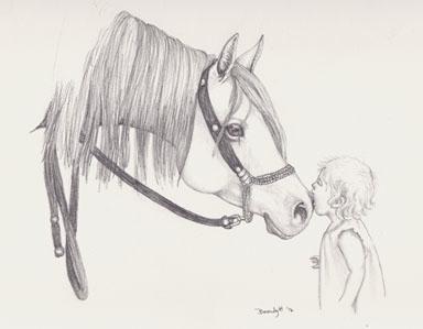 Kisses - drawing - brandyhouse   ello