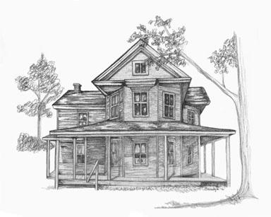 House - drawing - brandyhouse | ello