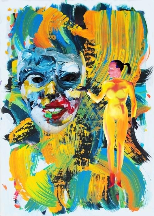 drama - illustration, digitalart - johnsharp | ello
