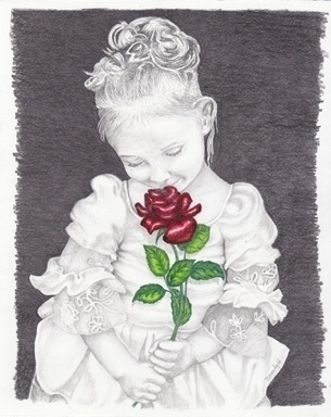 Smell Roses - drawing - brandyhouse | ello