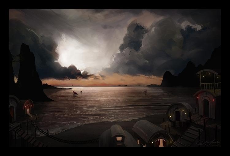 Tide - environment, environmentconcept - caitlinyarsky | ello