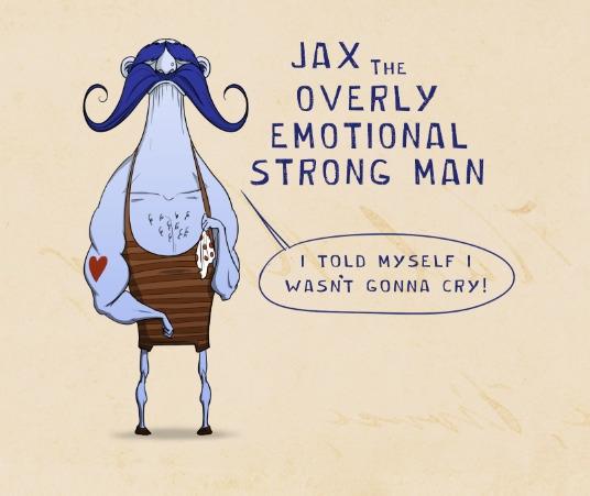 Gale Whale- JAX - illustration, characterdesign - caitlinyarsky | ello