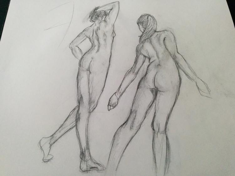 Life drawing - Drawing, Lifedrawing - 3dbell | ello