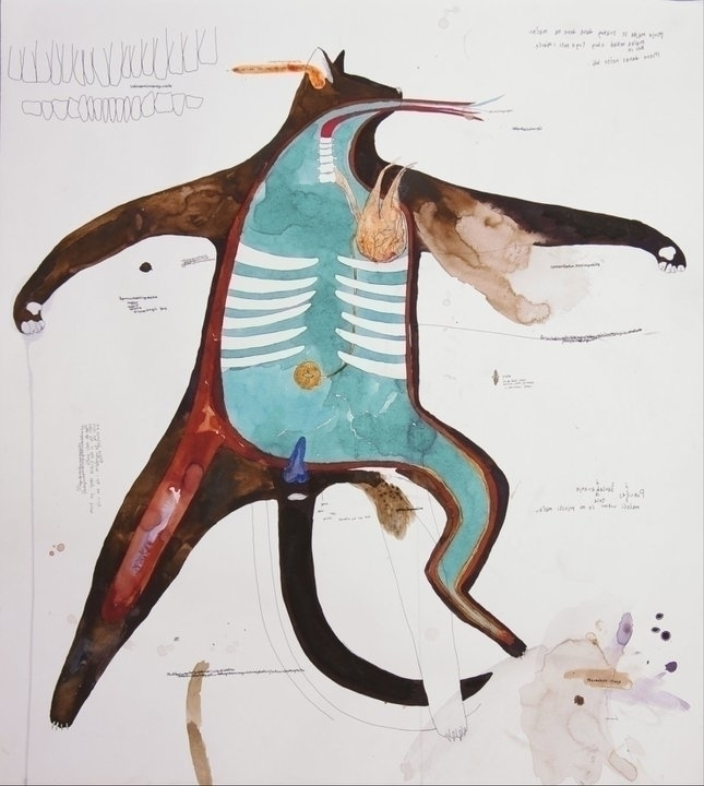 Process: Black cat, 72 64 cm, i - petite_bird_ivana | ello