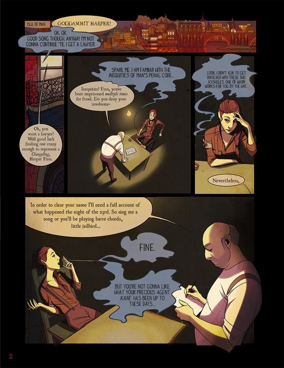 Harper Finn- PAGE 2 - comics, comicbooks - caitlinyarsky | ello