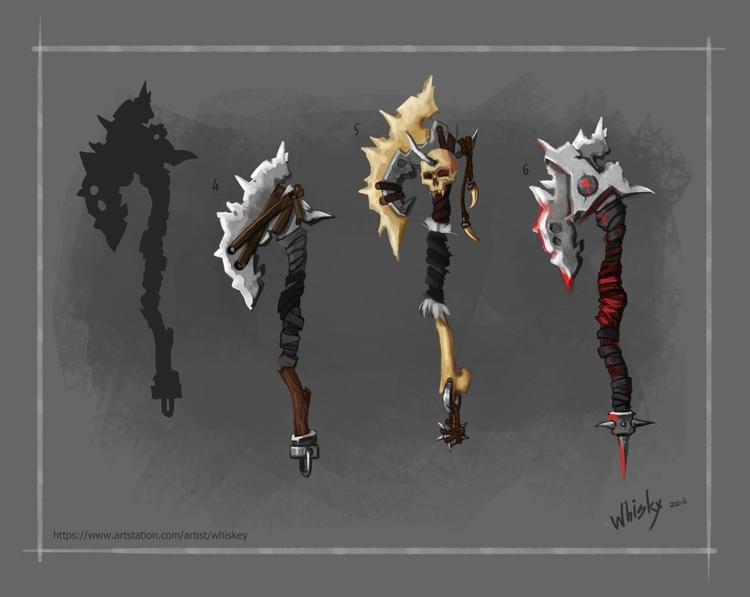 drawing, conceptart, gameart - alexandratokaruk | ello