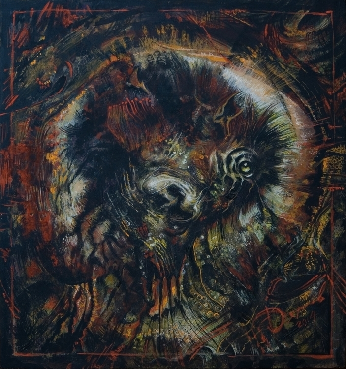 Embrio - painting, drawing - gazer-9289 | ello
