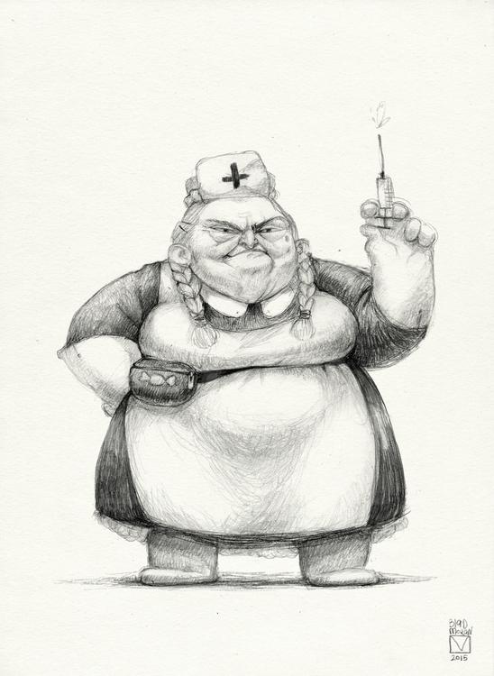 Sketchtober | 003 - illustration - blad_moran | ello