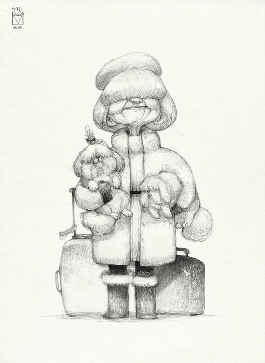 Sketchtober | 004 - illustration - blad_moran | ello
