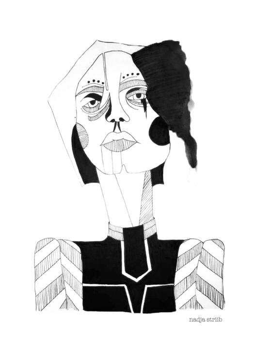powerful lady part series illus - nadjastriib | ello