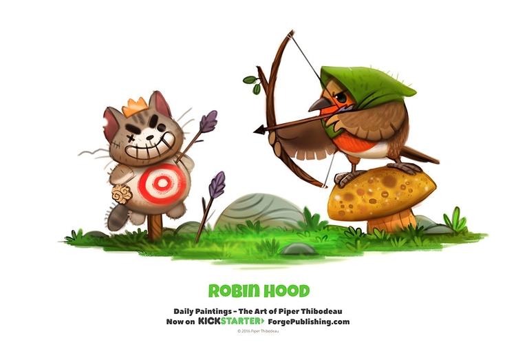 Daily 1337. Robin Hood - piperthibodeau | ello