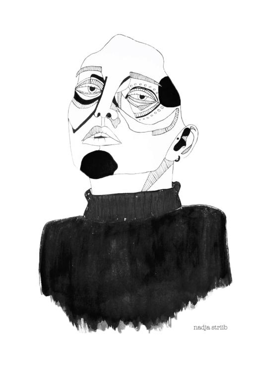 person part series illustration - nadjastriib | ello