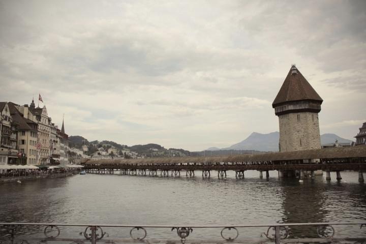 Lucerne | Chapel Bridge - ChapelBridge - joanasantos | ello