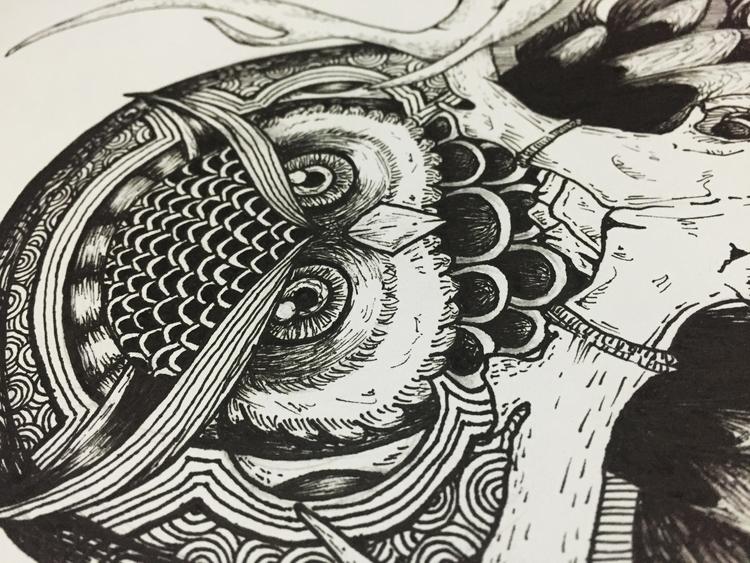 view 3 - owls, conceptart, conceptual - ria-1182 | ello