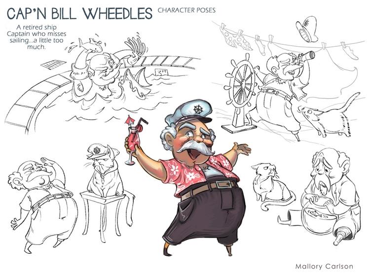 Character sheet - characterdesign - mallorycarlson | ello