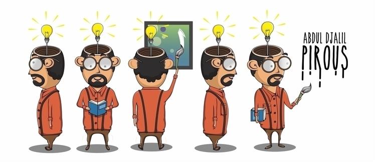 AD Pirous - illustration, animation - azwar-6931 | ello