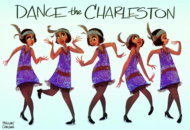 Roaring 20s character poses - characterdesign - mallorycarlson | ello