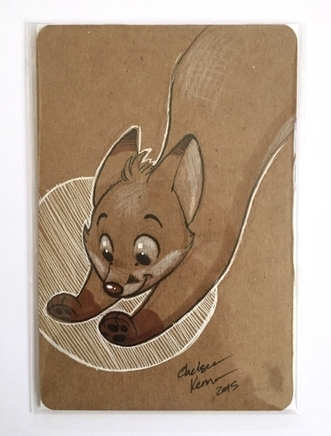 fox sketch CTN. Original sale - ink - chelseakenna | ello