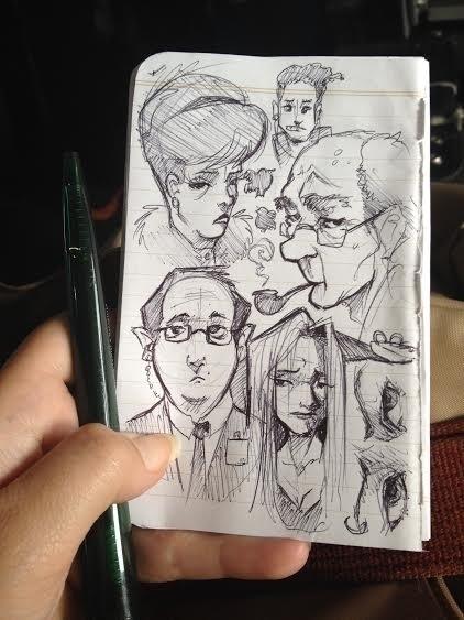 Sketches 7/2014 - sketches, sketch - barkpointstudio | ello