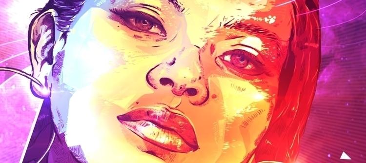 Love - Single Cover - illustration - tact-2105 | ello