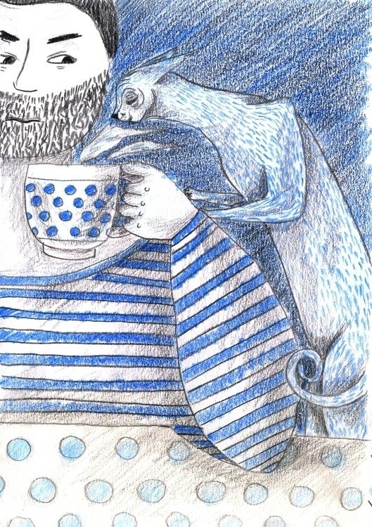 Cat - 6, illustration - olga_msk   ello