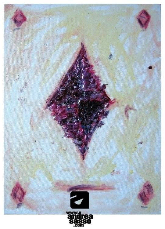 aceofdiamonds, illustration, painting - andreasasso   ello