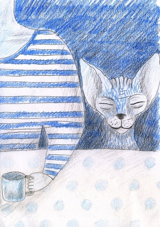 Cat - 8, illustration - olga_msk | ello