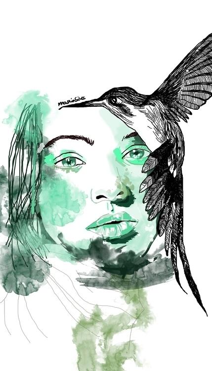 illustration, face, faces - mgoncalves | ello